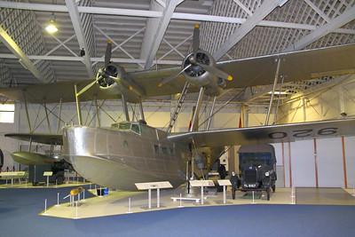 Stranraer in RAF Hendon  24/10/12