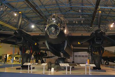 Lancaster in RAF Hendon  24/10/12