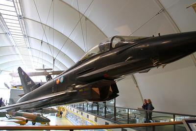 Typhoon in RAF Hendon  24/10/12