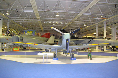 Spitfire in RAF Hendon  24/10/12
