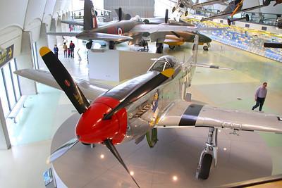 Mustang in RAF Hendon  24/10/12