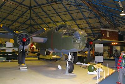 Mitchell in RAF Hendon  24/10/12