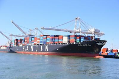 Hanjin Netherlands in Oakland