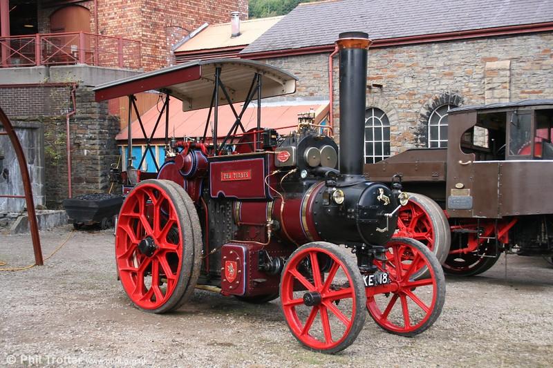 Aveling & Porter KE 18 at the Rhondda Heritage Park's steam day on 2nd October 2005.
