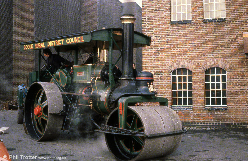 WW 3643 dating from 1927 in close-up at Derby Industrial Museum in the early 1980s.