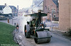 WW 3643 'Goolie', a Marshall Road Roller built in 1927 photographed in action at Derby Industrial Museum in the early 1980s.