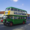 Ipswich Corporation AEC Regent  CDX 516 Fleet Number 16. Ths vehicle resides at The Ipswich Transport Museum. Photo dated 5th May 2013.