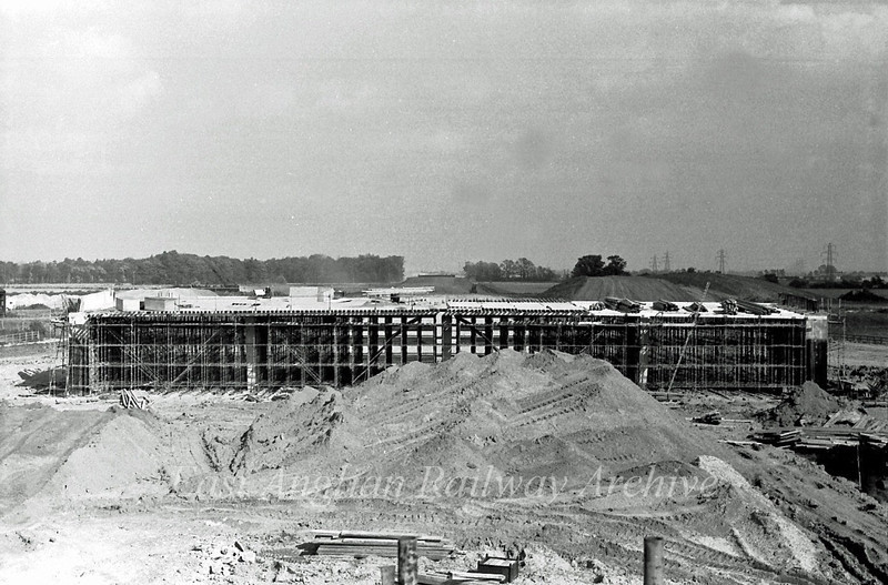 View east towards Milton 11th September 1977