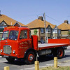 Albert Dent of Hilgay Norfolk.  1962 Dennis Condor flatbed truck.  1st May 2011