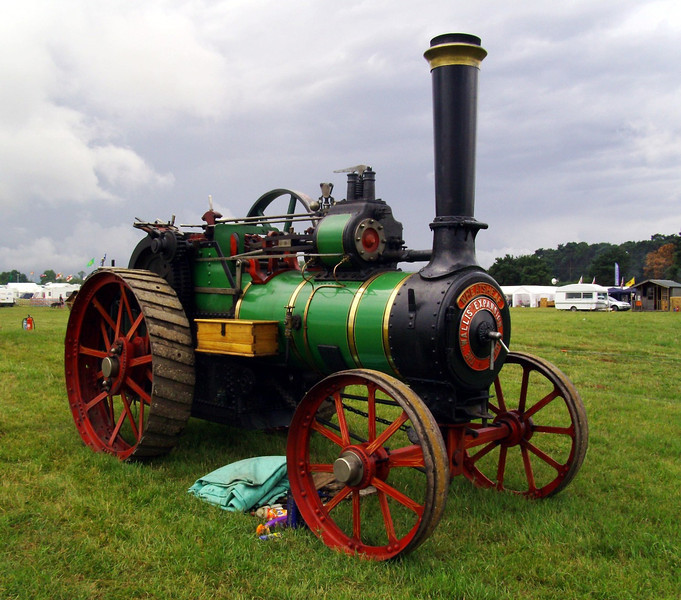 Wallis and Steevens expansion type 7 traction engine.  Built March 1919.