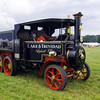 Foden 6 wheel steam wagon no. 13008 owend by the Saunders collection Bedfordshire.