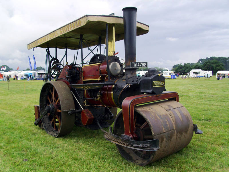 John Fowler 10 ton road roller built in 1929 and used by Kitcheners of Potton, Bedfordshire from new.
