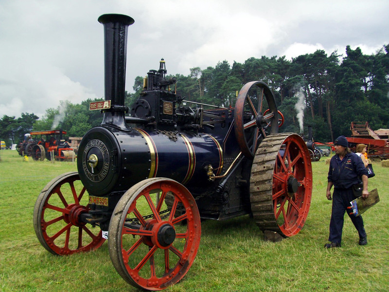 "Burrell 10 ton general purpose traction engine "" The Big A"" built in 1891"