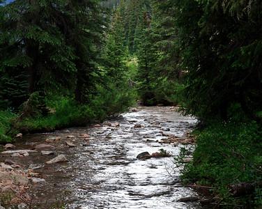 Booth Falls trail