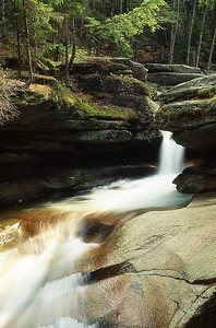 Sabbaday Falls, White Mountains, New Hampshire 316-59