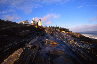Pemaquid Point lighthouse, Maine 317-25