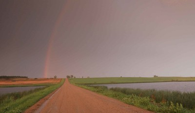 Rainbow after storm.  #2044