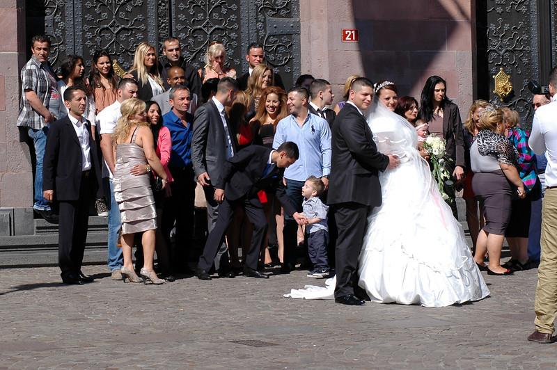 Bröllop vid rådhuset