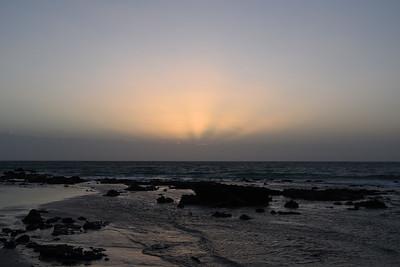 Soluppgång i Costa Calma