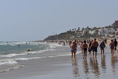 Stranden i Costa Calma