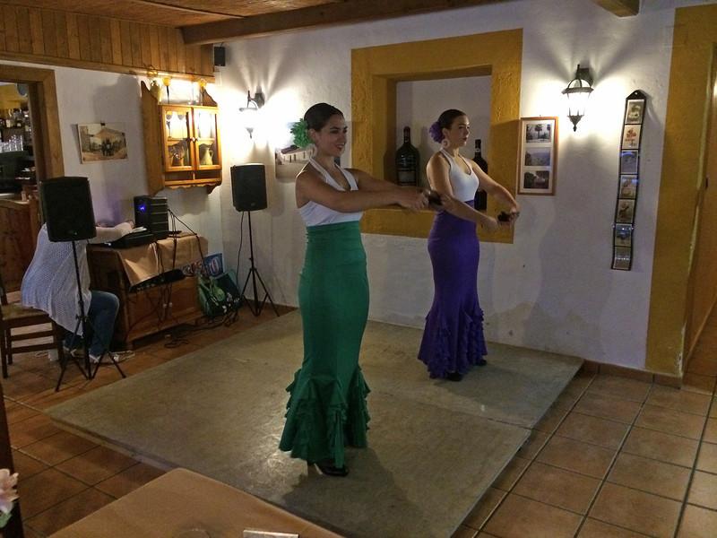 Flamenco show på Casas Rebate