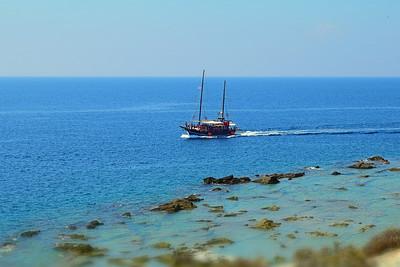 Båt utanför Alici