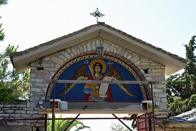 Klostret Archelangou som är helgat till ärkeängeln Mikael