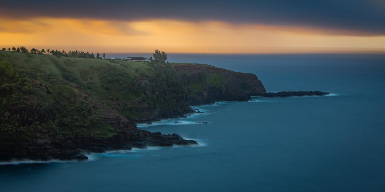 Sunset of Maui's Northshore