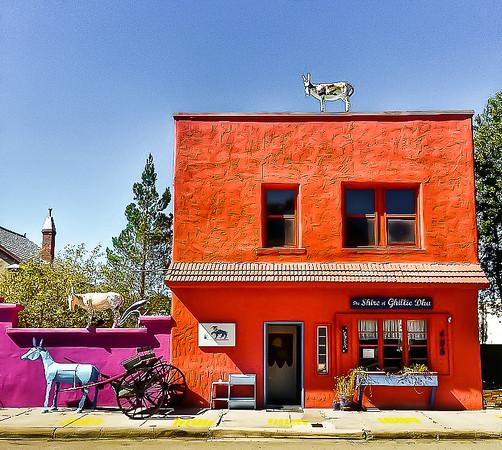 Colorful Carrizozo, New Mexico.