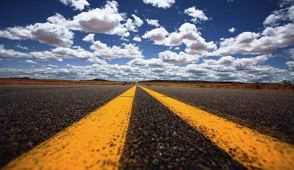 The double yellow lane in Arizona