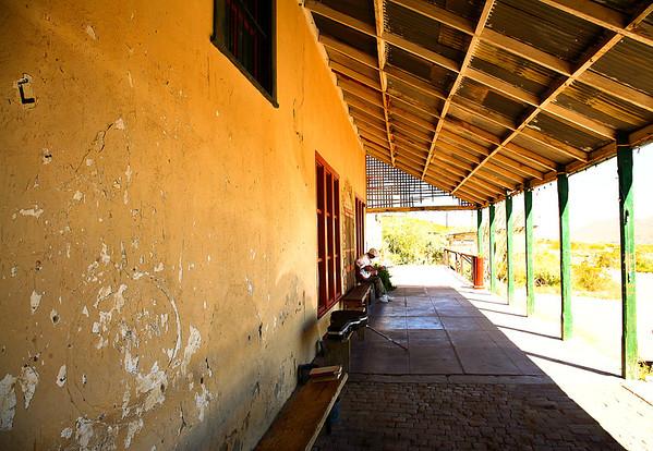 The Famous Terlingua Porch.