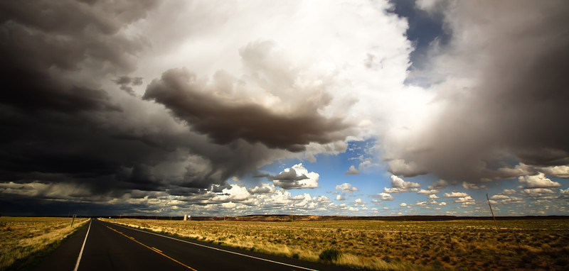 Stormy weather in Arizona