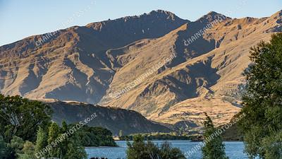 Lake Wanaka and hills