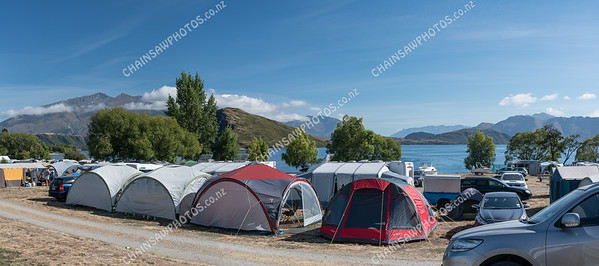 Glenghu camp ground Lake Wanaka