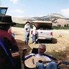 2001_Verlyn Ryan Playing Guitar - Allen Canyon Trip