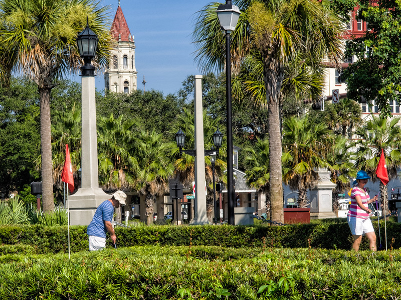 Miniature Golf in historic  St. Augustine