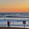Photographer waiting to Shoot Sunrise