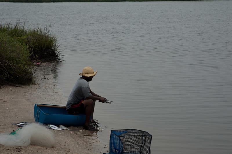 Guana River Fisherman