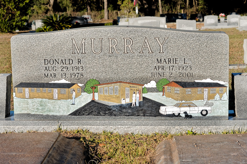 Donald & Marie Murray's Grave