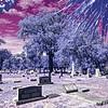 Melrose Cemetery in Infrared