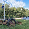 Antique Farm Equipment in Adams Run