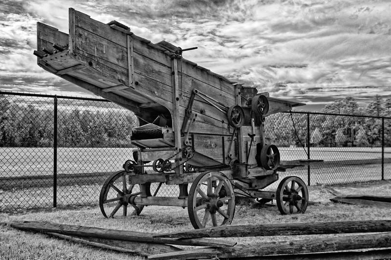 """Rediscover Early Florida""  Farm Machine"