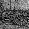 Antique Wagon near St Paul's Episcopal near East Palatka