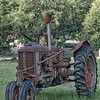 Antique Case Tractor in South Carolina