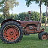 Antique Case Tractor in Adams Run