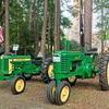 1954 John Deere 420W and 1947 B Tractors