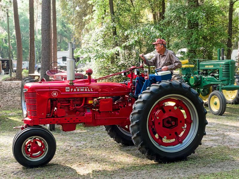 Antique McCormick Farmall Tractor