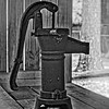 """Rediscover Early Florida""  Well Pump"