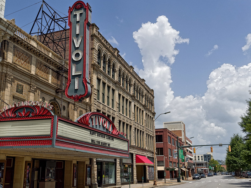 The Tivoli Theatre in Chattanooga