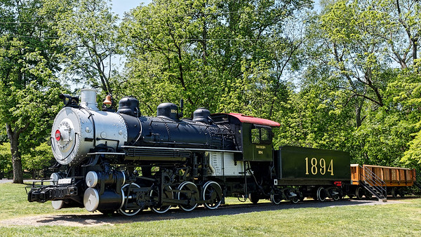 Illinois Central Locomotive in Clemmons